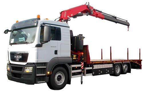 LORRY MOUNTED CRANE/LOADER
